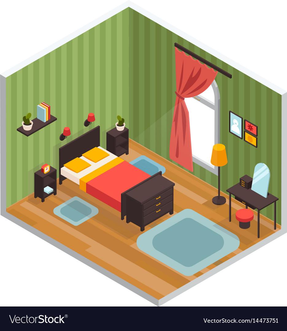 Bedroom interior concept
