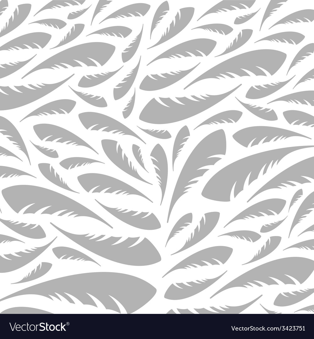 Feather a background vector image