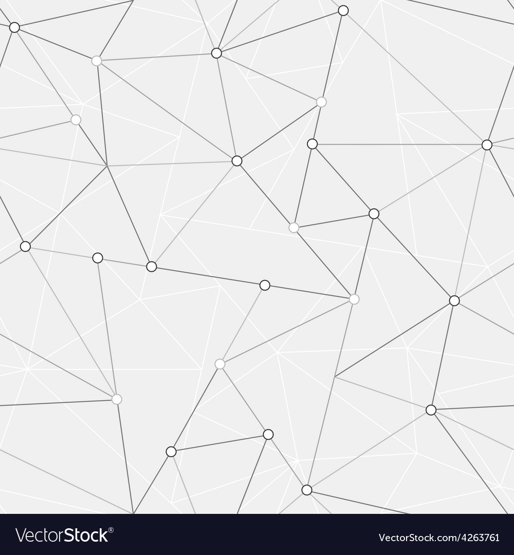Technology triangle seamless pattern