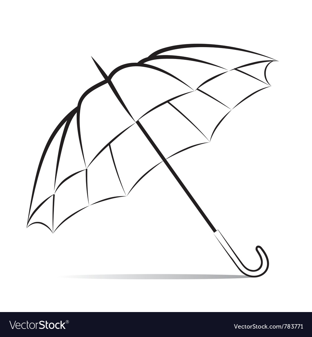 how to draw an umbrella in powerpoint