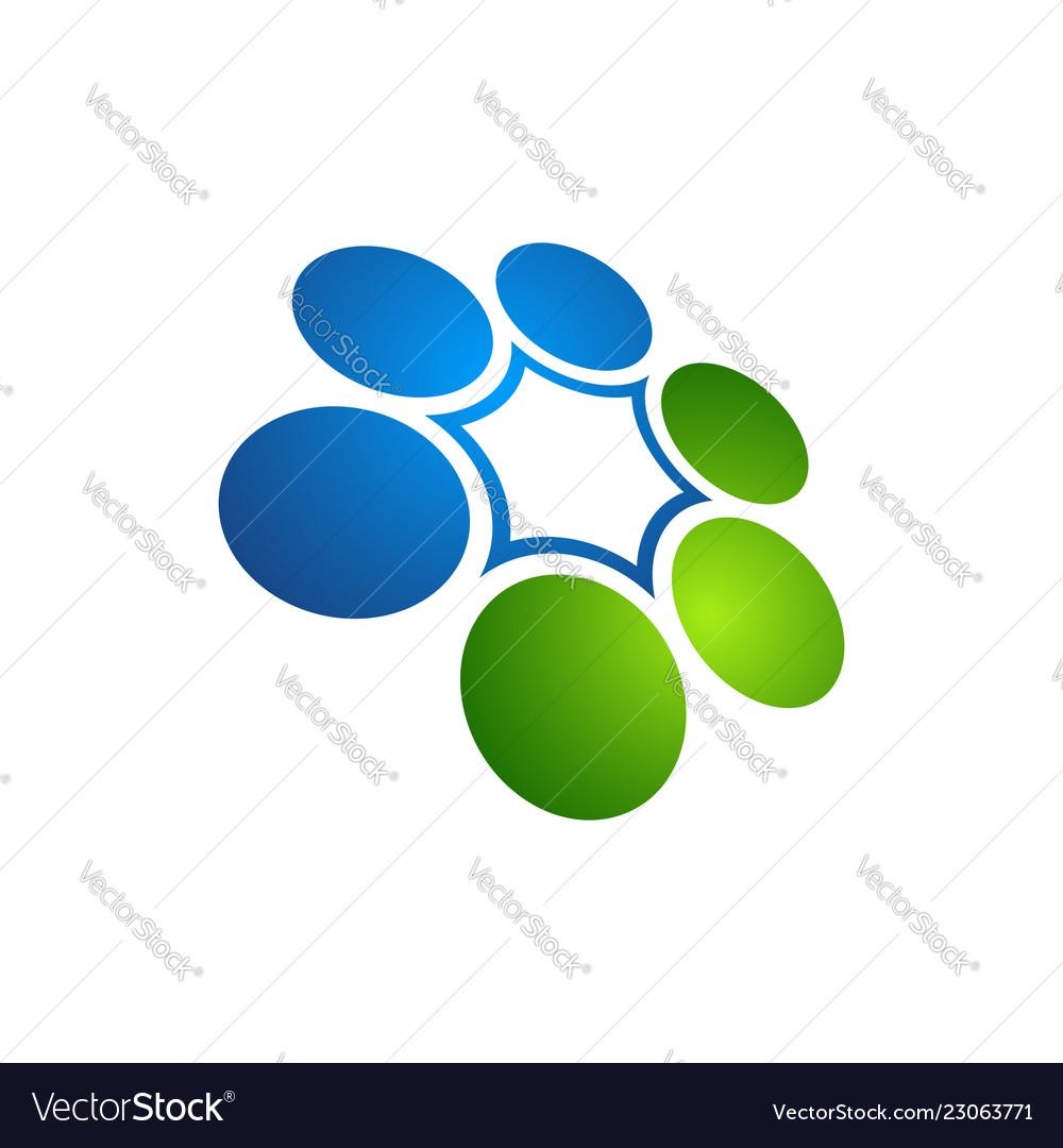 Orbit logo logo technology circle techno logo