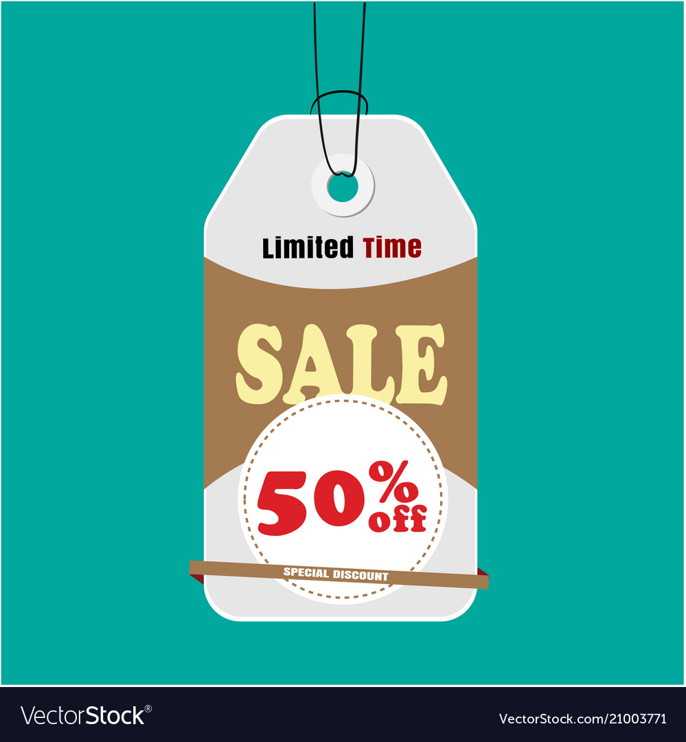 Tag sale limited time sale 50 off image