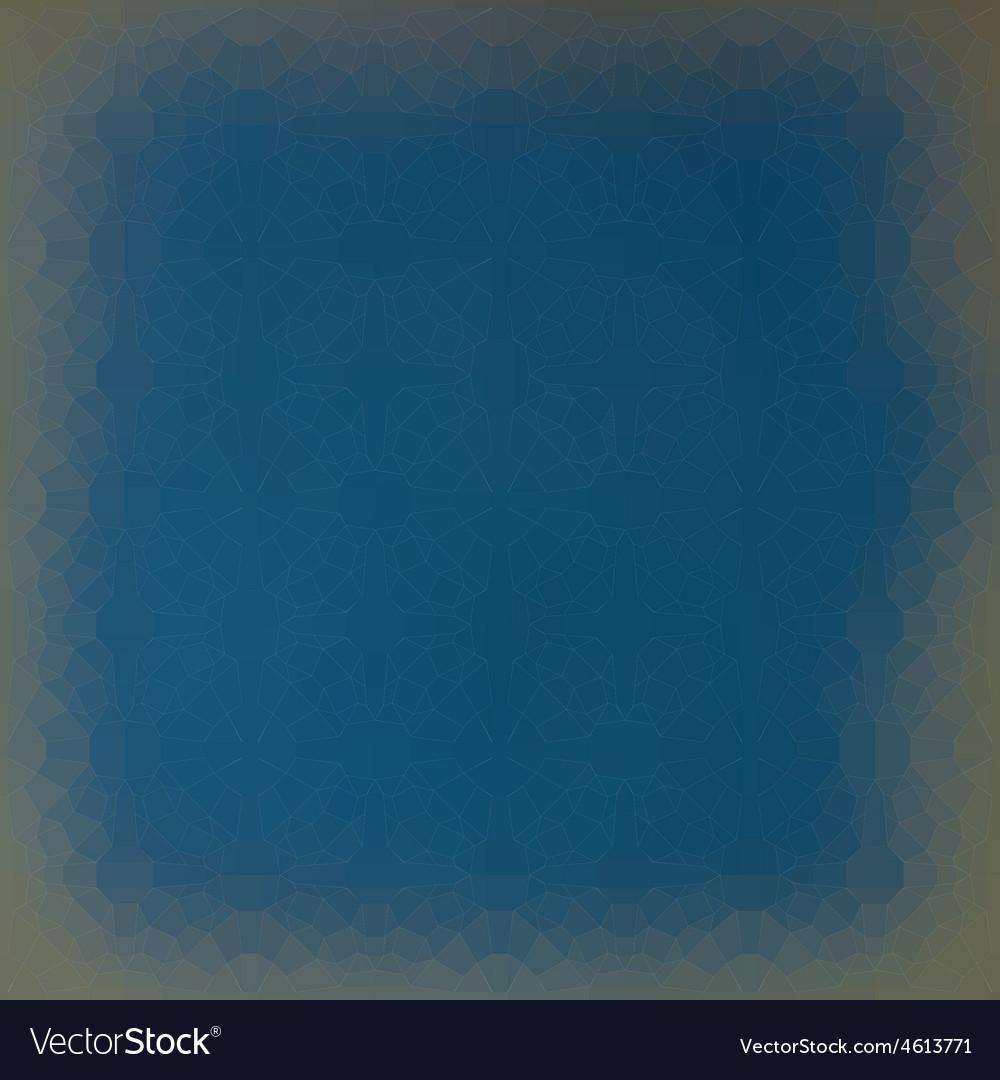Techno gradient frame light effect in blue gray