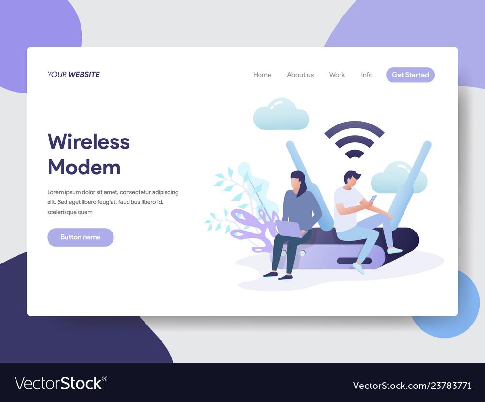 Wireless modem concept