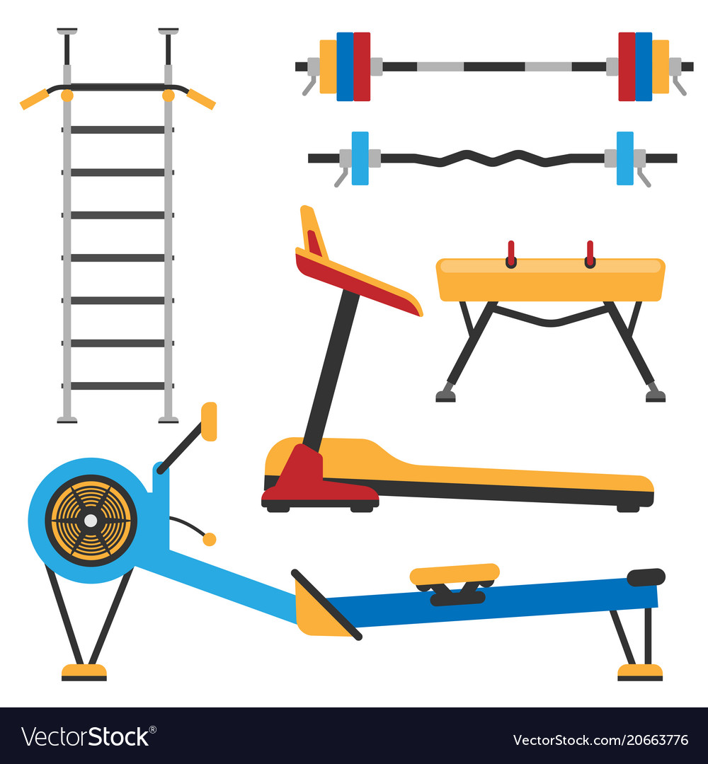Fitness gym club athlet sport activity body tools