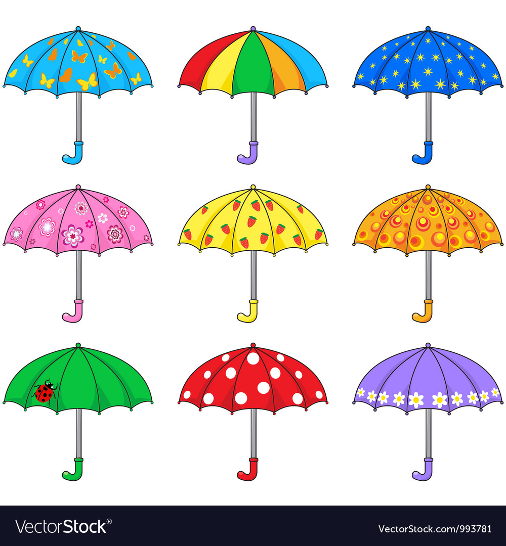 umbrella royalty free vector image vectorstock rh vectorstock com umbrella vector eps umbrella vector icon