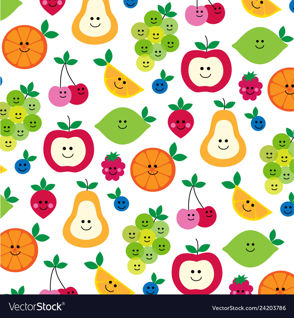 Mhd fruit with faces clipart preview