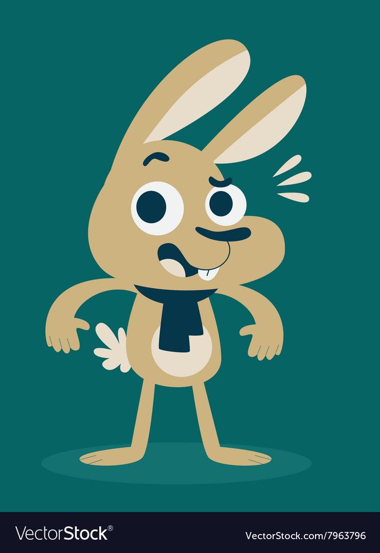 Cute Bunny Surprised