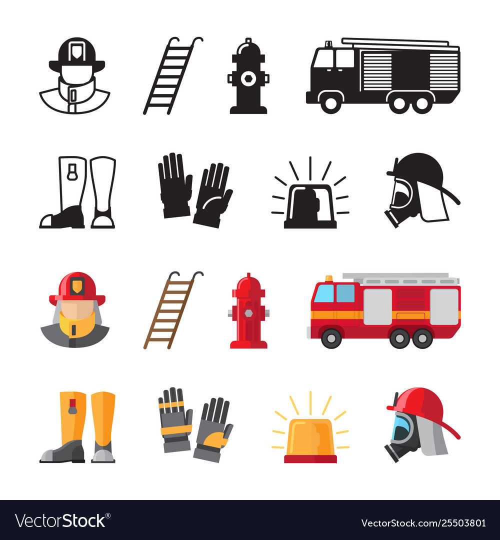 Firefighter accessorises fireman tools