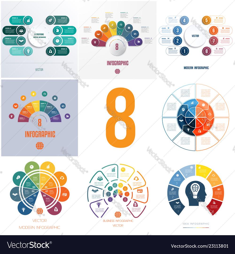 Universal templates elements infographics