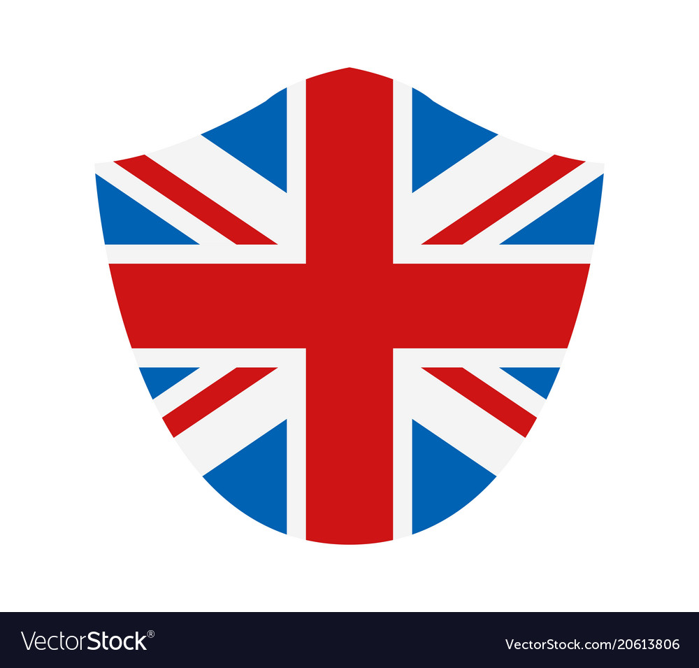 great britain flag royalty free vector image vectorstock rh vectorstock com uk flag vector free download british flag vector ai