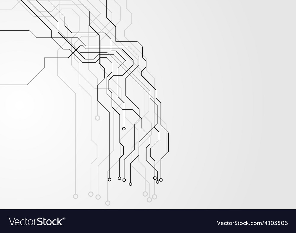 Blue Computer Circuit Board Loop Background Motion Letters Vector Colourbox Grey Hi Tech Image