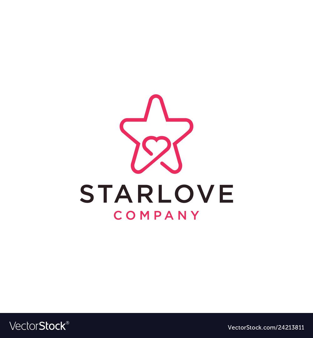 Starlove logo icon