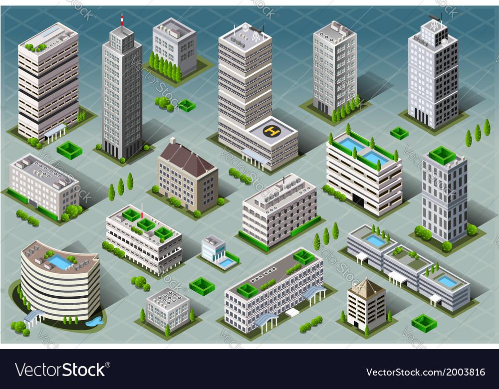 Isometric Buildings