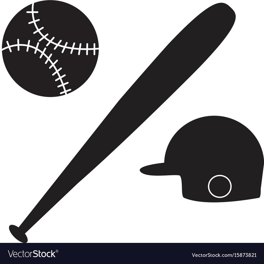 Baseball icon on white background baseball sign