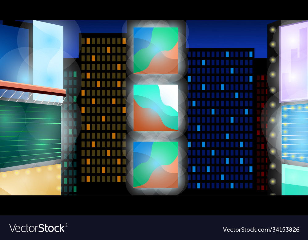 Abstract night city background cityscape on a