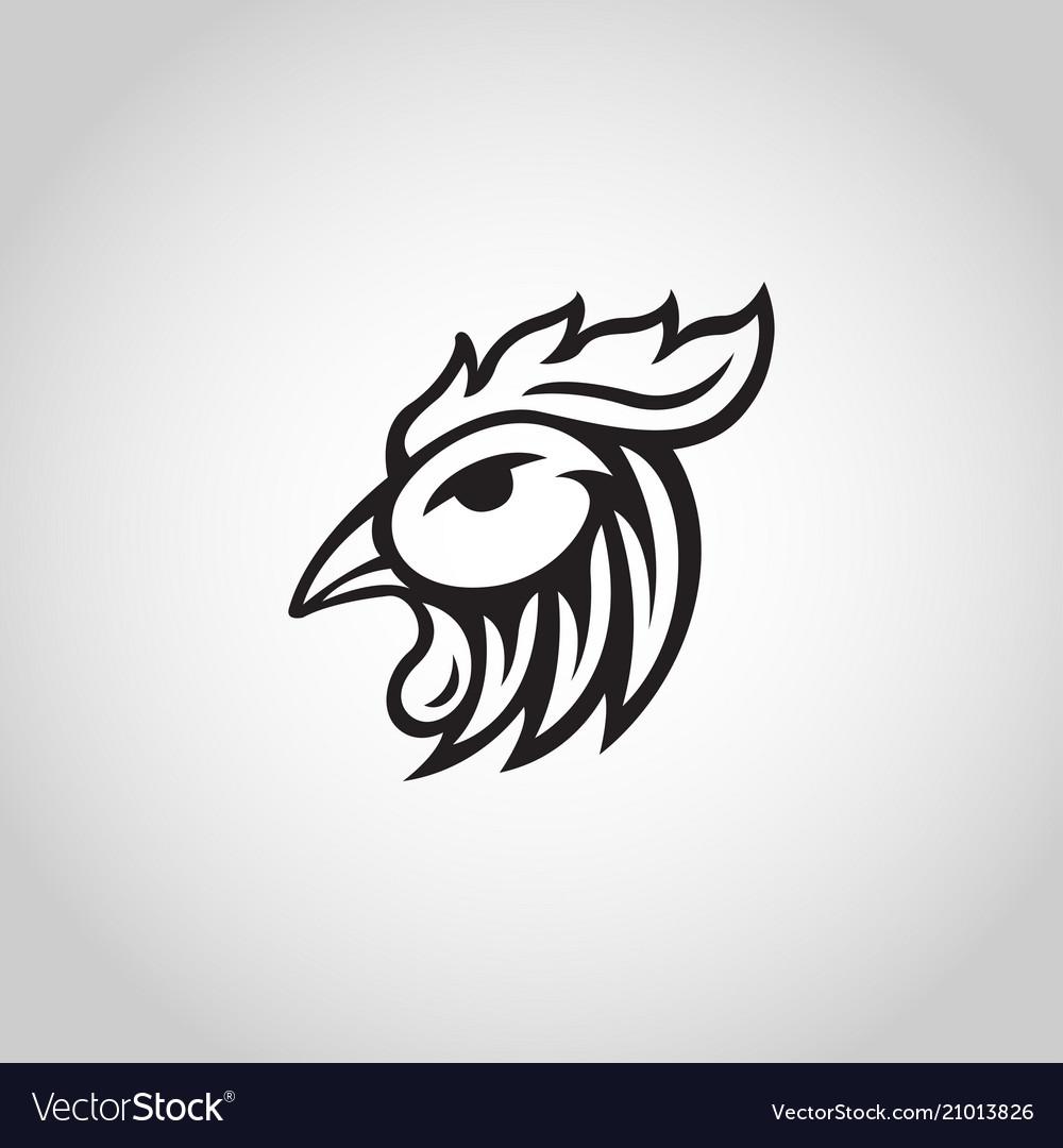 Chicken logo icon