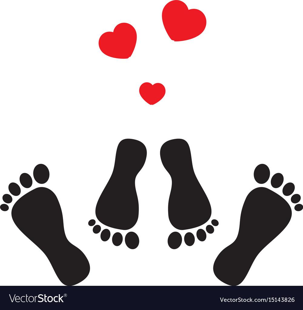Feet and hearts
