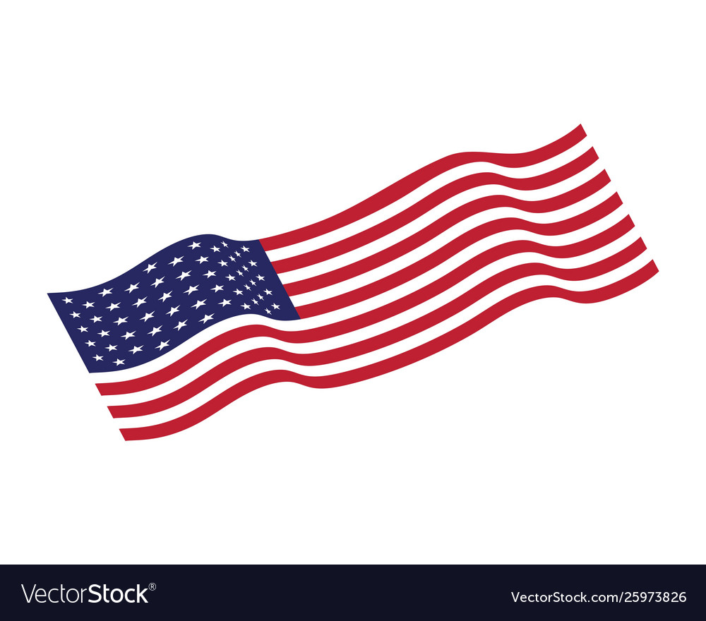 Flag american icon