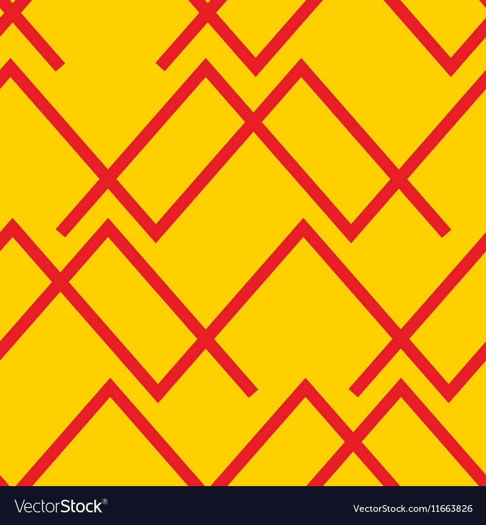 Seamless abstract horizontal lines pattern vector image