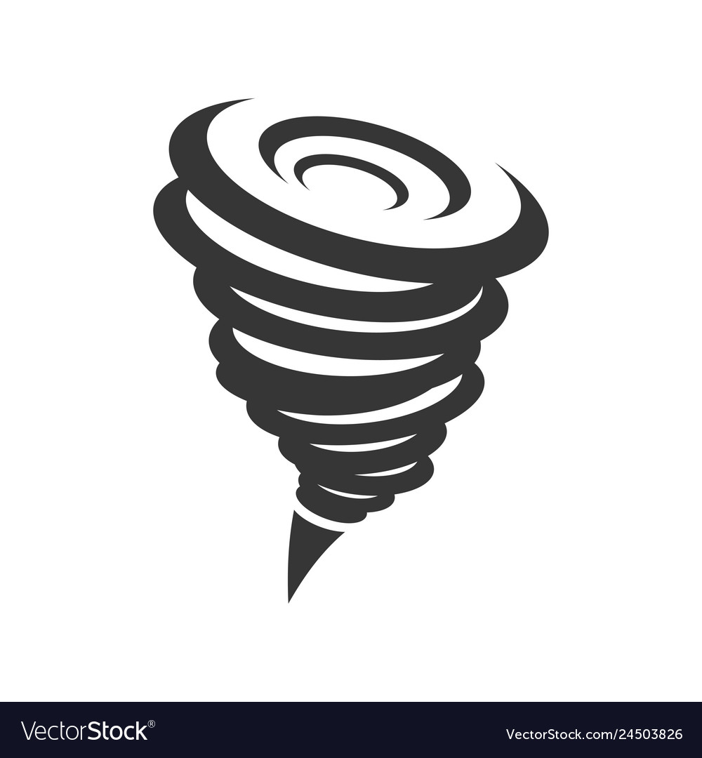 Tornado hurricane icon