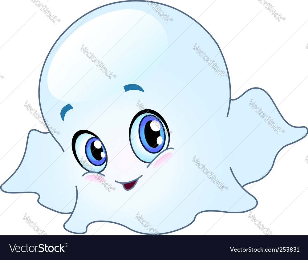 Baby Ghost Vector. Artist: yayayoy; File type: Vector EPS; Contains CS file: