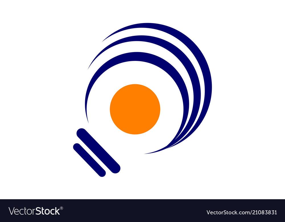 Smart solution logo design template
