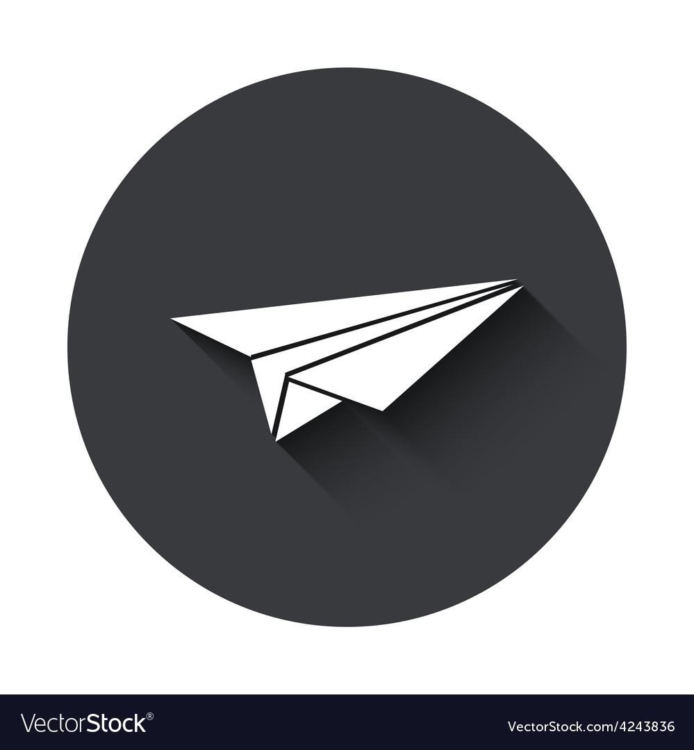 Modern gray circle icon
