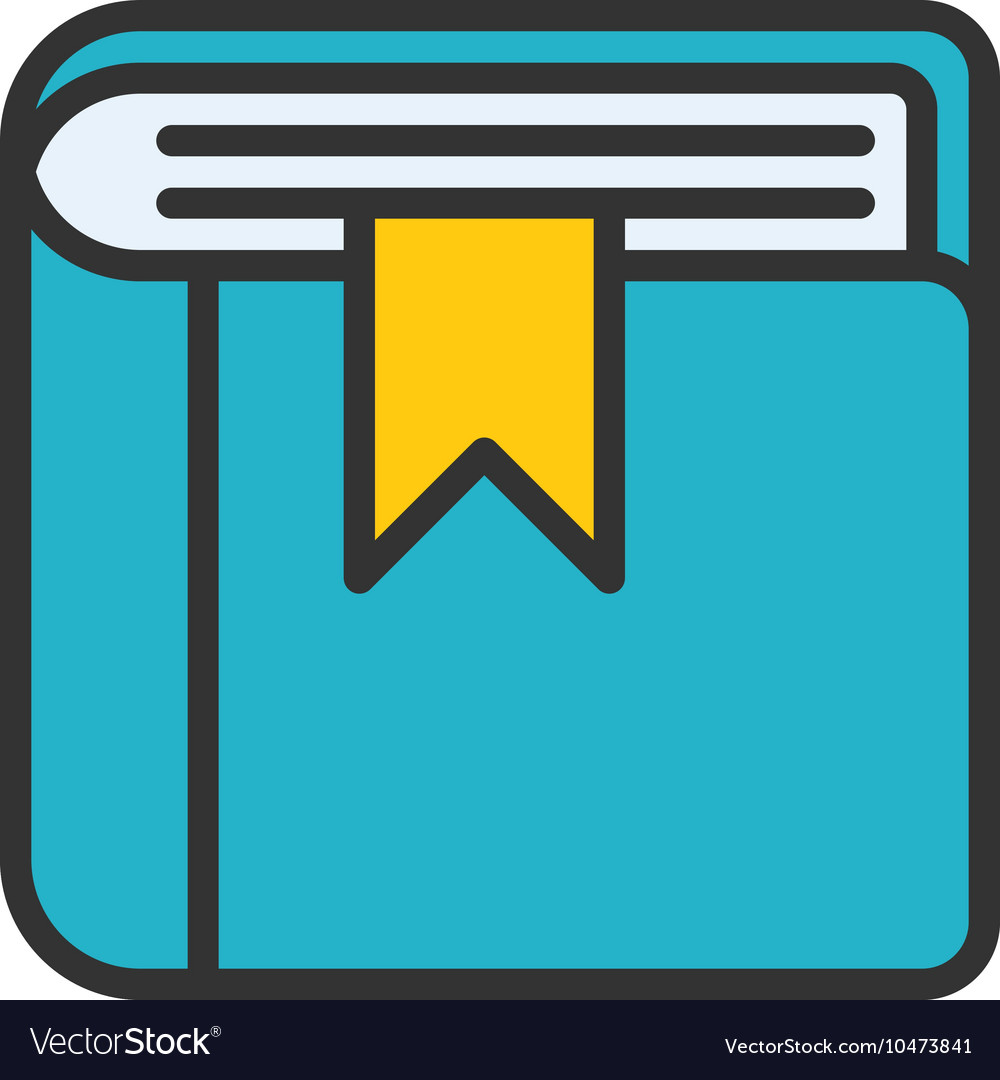 Book Outline Icon