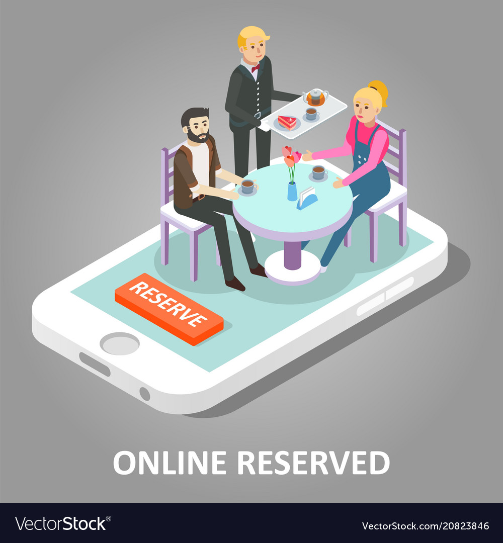 Online reserved table