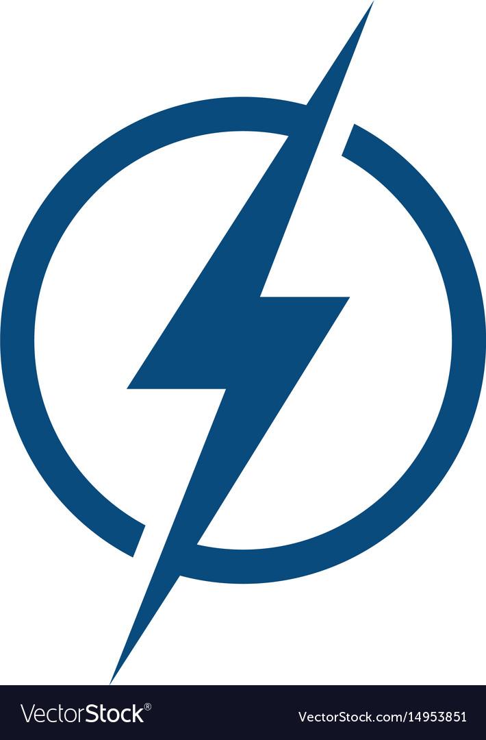 lightning logo design royalty free vector image Tampa Bay Lightning Hockey Tampa Bay Lightning Wallpaper