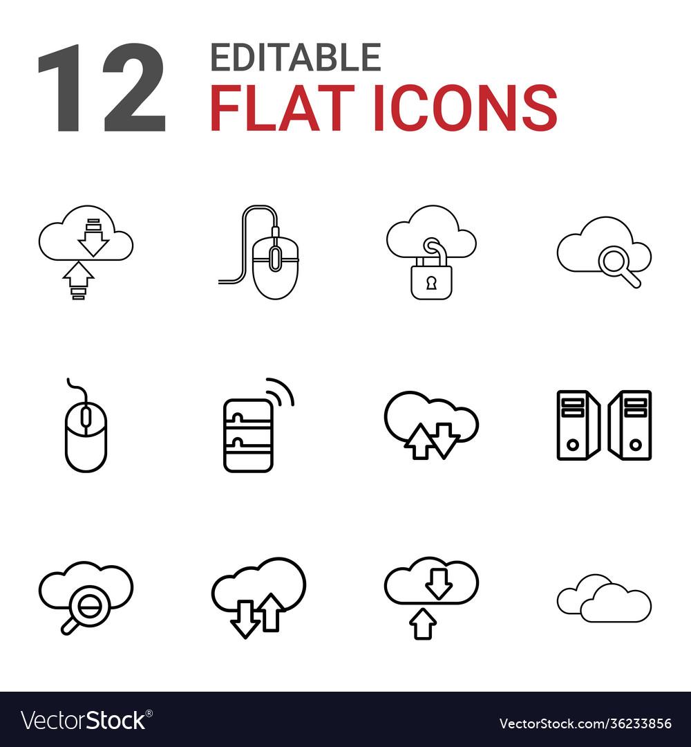 12 computing icons