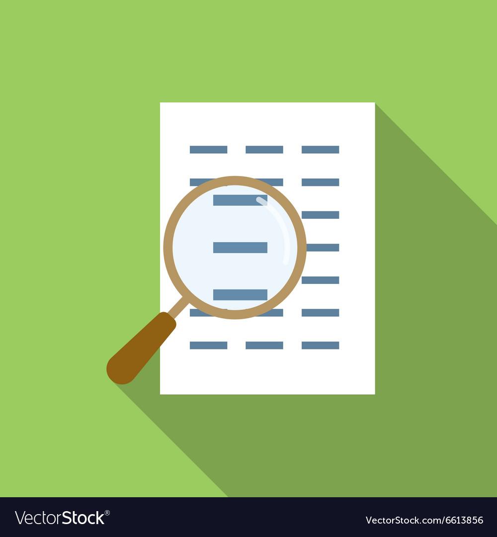 Search file flat icon