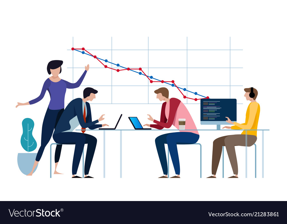 Burn-down chart scheme of agile methodology