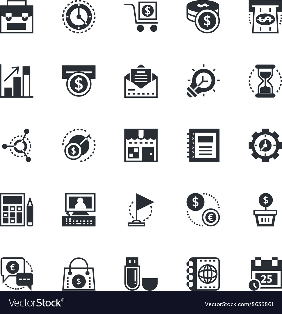 Business and Office Icons 1