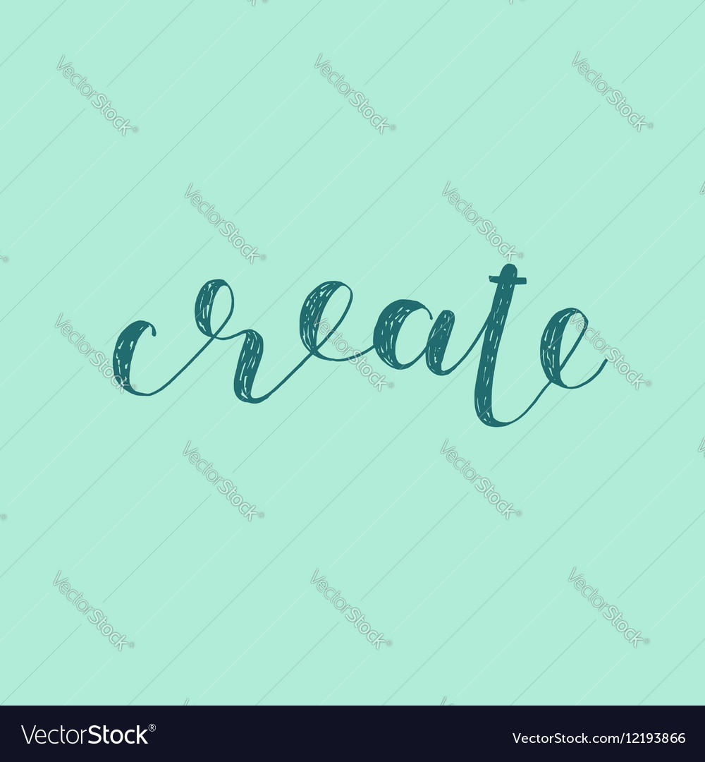 How to Create Brush Lettering