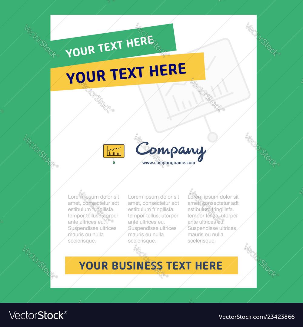 Presentation Title Page Design For Company