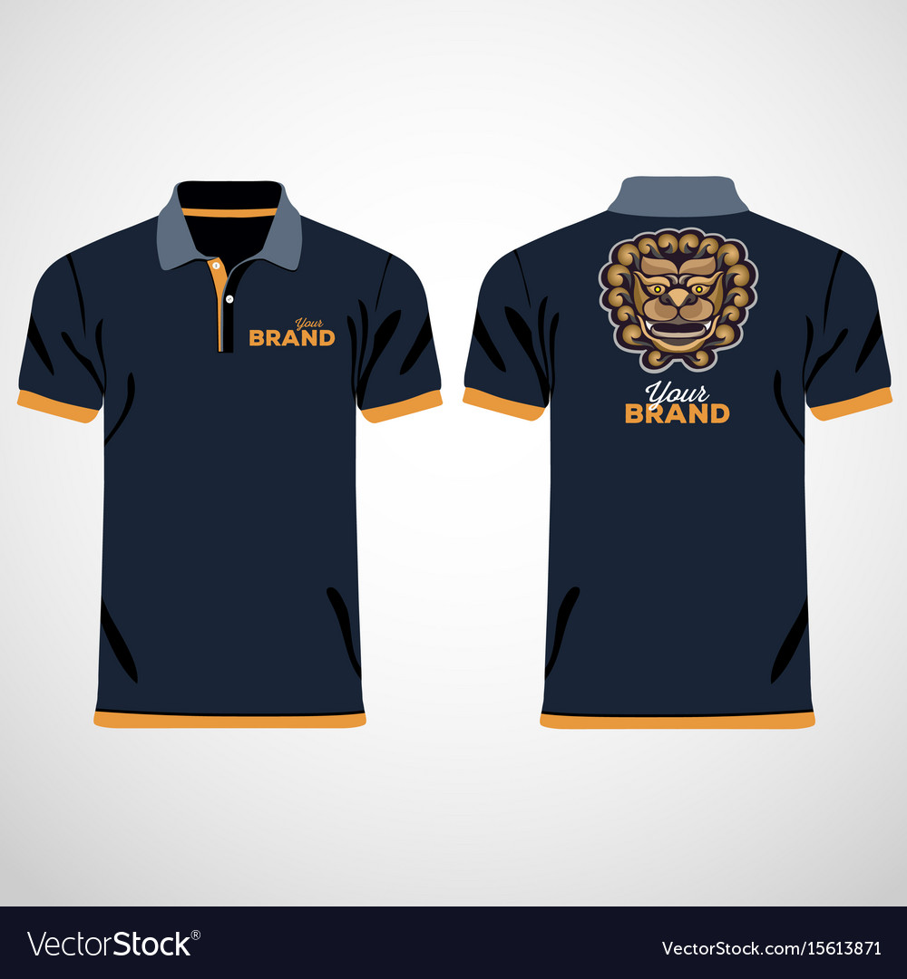 465249a9 Color men polo shirts design template Royalty Free Vector