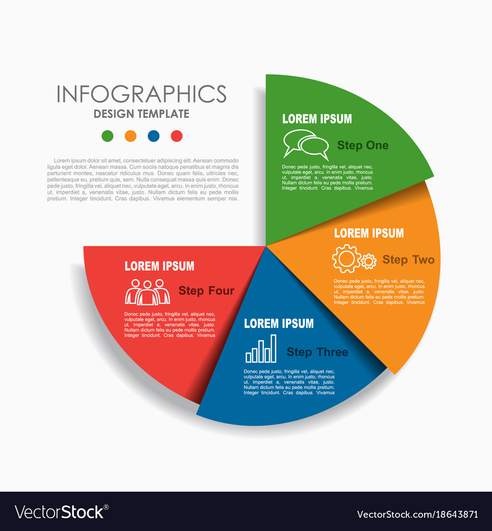Infographic template can be used for workflow