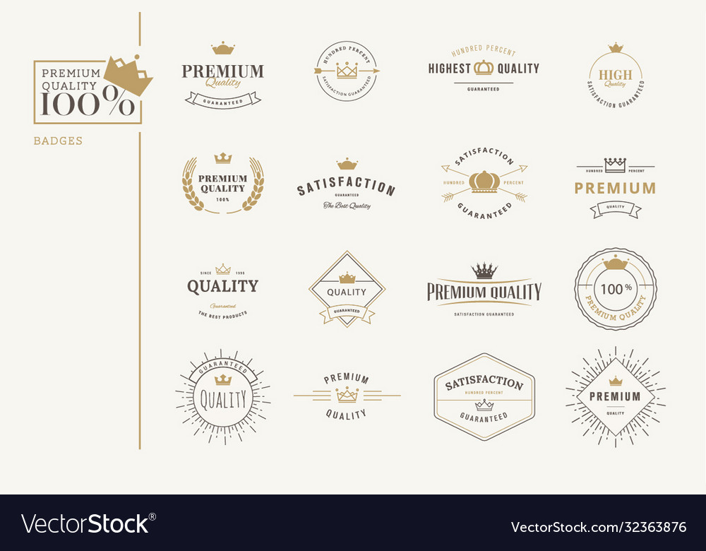 Set premium quality stickers and elements