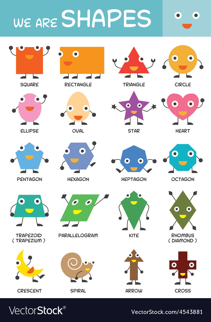 It is a picture of Unforgettable Printable Shapes Chart