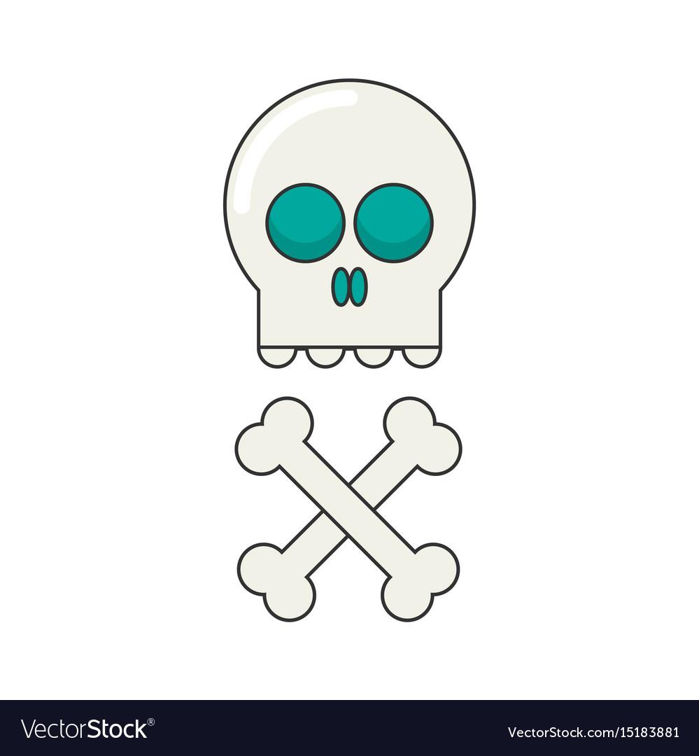 Skull flat