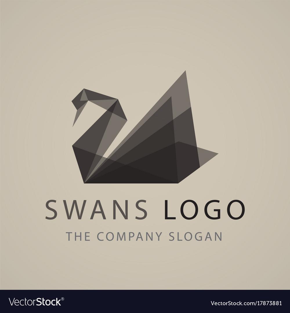 Swan logo sign emblem-20