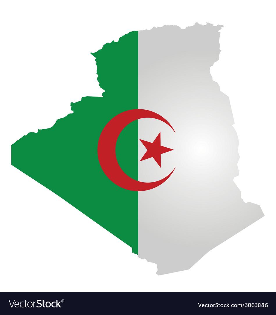Algeria Flag Vector Free