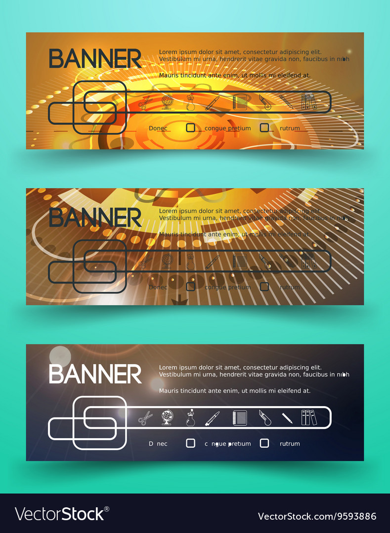 Corporate Identity Banner Template