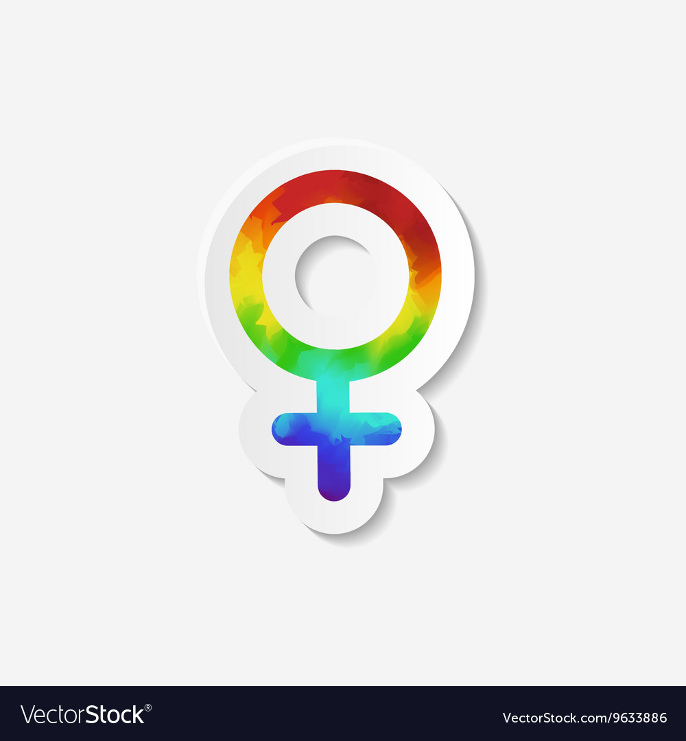 Gender identity icon Female Venus symbol