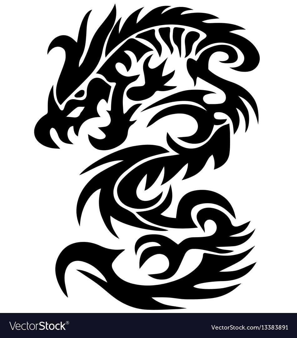 tribal tattoo de dragao wwwimagenesmycom