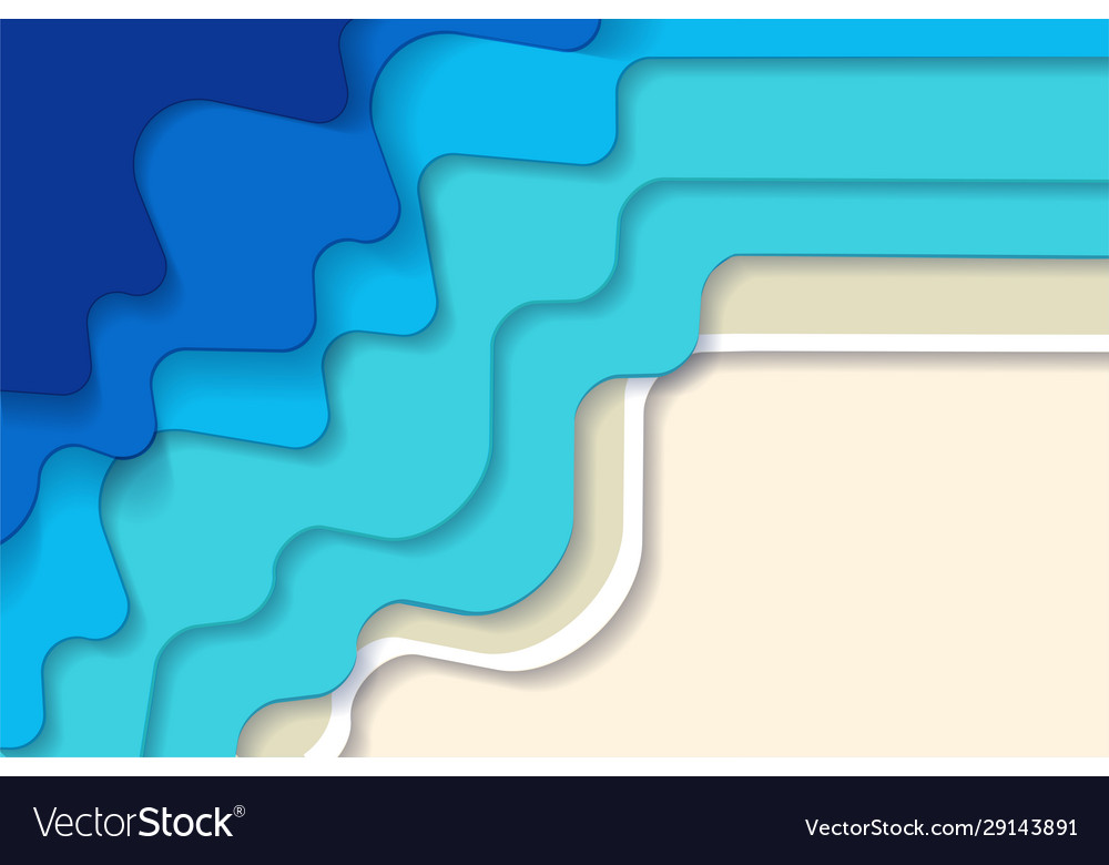Horizontal abstract blue turquoise blue maldivian