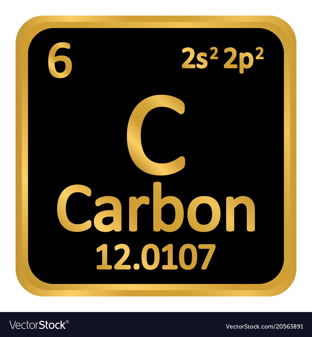 Carbon Periodic Table Of Element Vector Images 51
