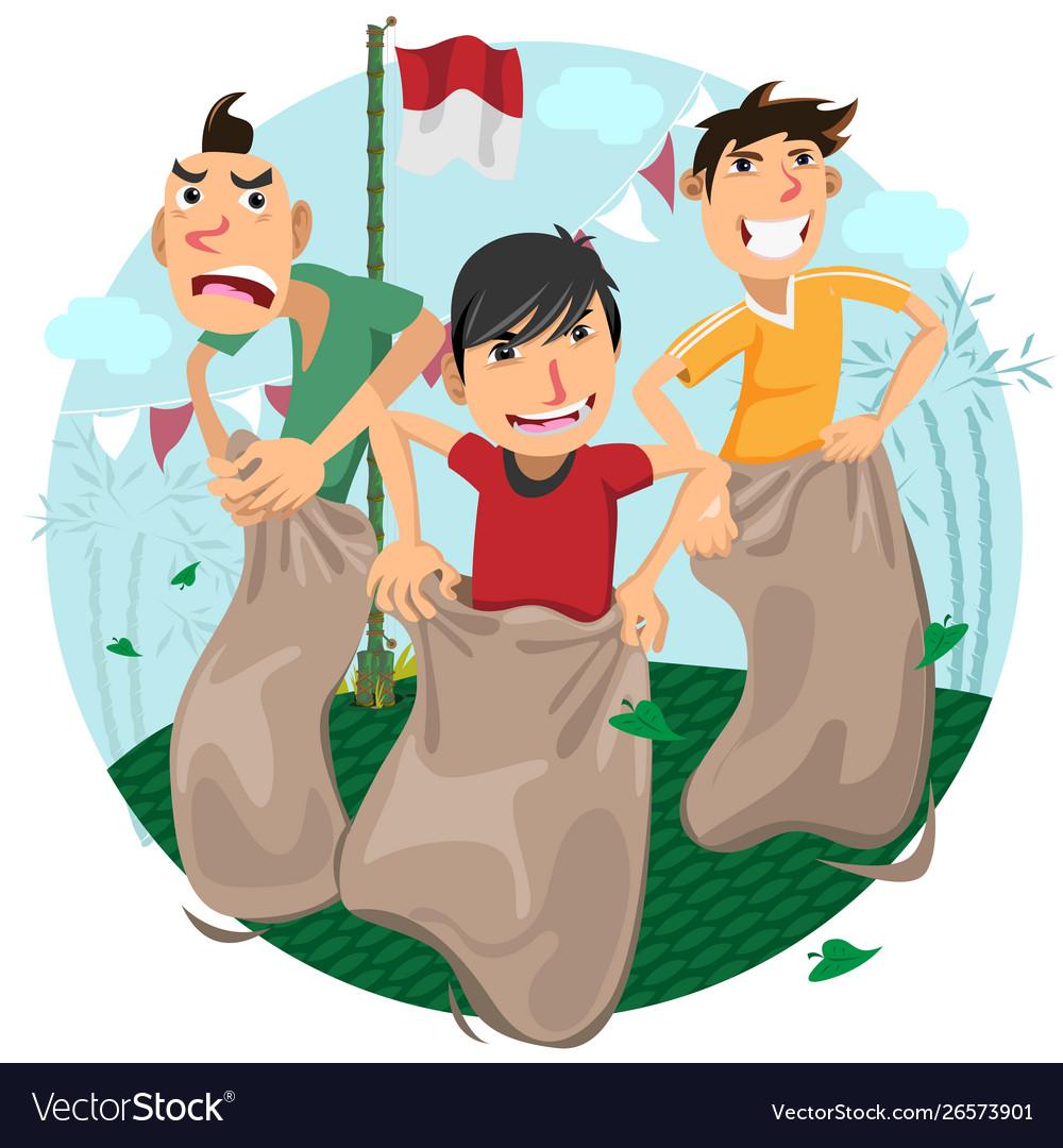 Indonesia independence day games celebration - sla